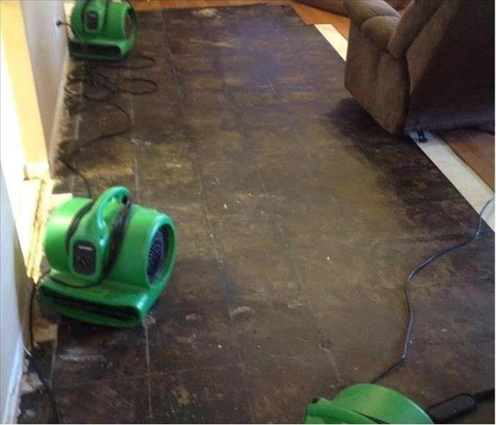 Water Damages Laminate Flooring in Nashville After
