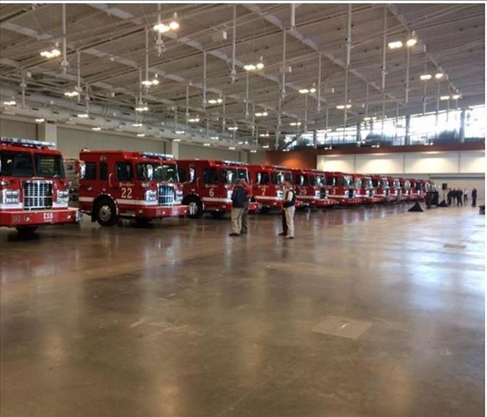 The Nashville Fire Department's Ribbon Cutting Ceremony for the 13 New Fire Trucks
