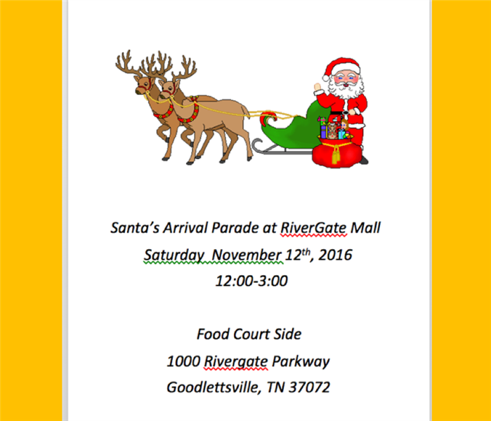 Santa's Arrival Parade at Rivergate Mall