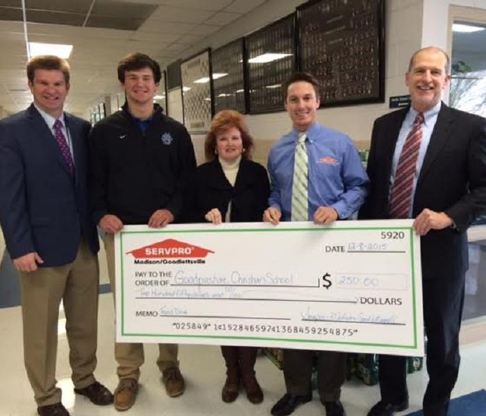 Donation Given To Goodpasture Christian School 2015