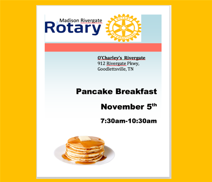 Madison Rivergate Rotary Club Pancake Breakfast