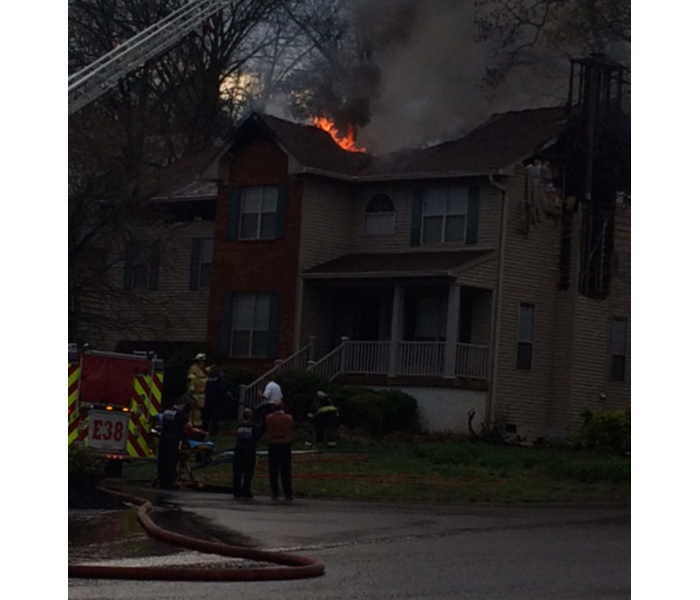 Fire Damage In Nashville, Madison, Goodlettsville?