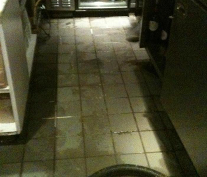 Commercial Water Damage – Gallatin Restaurant